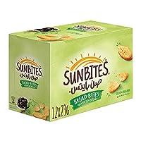 Sunbites Olive & Oregano Bread Bites 12 x 23 gm
