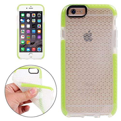 Wkae Case & Cover Pour iPhone 6 Plus &6s plus Honeycomb Housse de protection TPU Texture ( Color : Orange ) Green