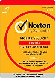 Norton Mobile Security - 1 Device - 1 Year (Email Delivery in 2 Hours - No CD)