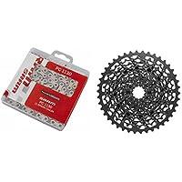 Sram XG-1150 cassette 10-42 & PC 1130 chain 11-speed Drive Train Set bundle grey 2018
