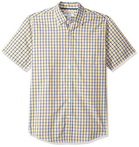 Amazon Essentials Regular-Fit Short-Sleeve Stripe