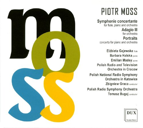 Moss: Symphonie concertante/Adagio III/Portraits Studio 3 Portraits