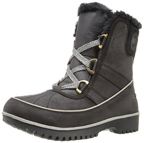 Sorel Tivoli II Premium Faux Fur Womens Boots UK 3 Black