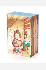 Little House 4-Book Box Set: Little House in the Big Woods, Farmer Boy, Little House on the Prairie, on the Banks of Plum Creek Paperback
