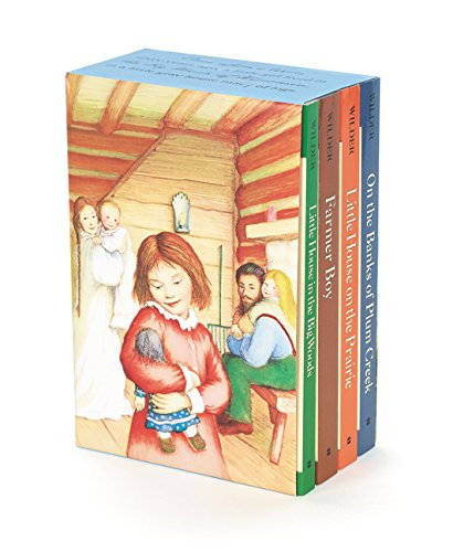 Little House 4-Book Box Set: Little House in the Big Woods, Farmer Boy, Little House on the Prairie, on the Banks of Plum Creek por Laura Ingalls Wilder