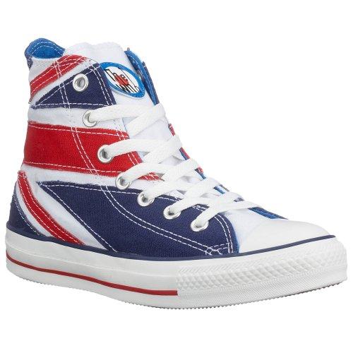 Converse , Baskets pour femme Multicolore Bianco/Rosso Bleu - Blu (Rosso/bianco/blu)