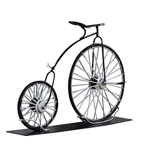 T TOOYFUL 1:16 Maßstab Legierung Diecast Klassische Bike Modell Replik Mini Fahrrad Spielzeug Schwarz - # 4