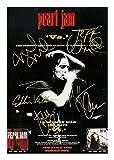Pearl Jam Signiert Autogramme 21cm x 29.7cm Plakat Foto