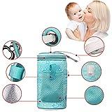 Babyflaschenwärmer USB Tragbar Heizung Intelligent Thermostatbeutel Warme Milch Isolierhülse.