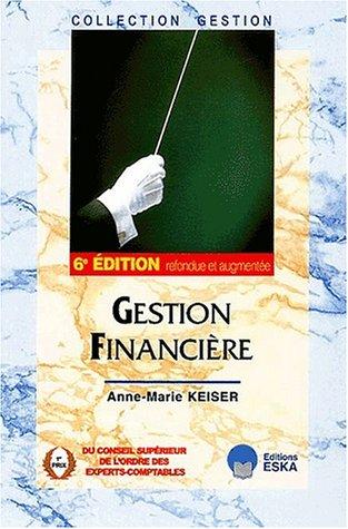 Gestion financière. : 6ème édition