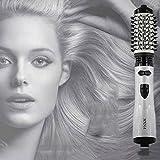 MeiZiWang Warmluftbürste Alle In Ein Styling Werkzeug Für Alle Haare Arten Geben Sie Salon Glamour Ergebnis Zu Hause (Schwarz)