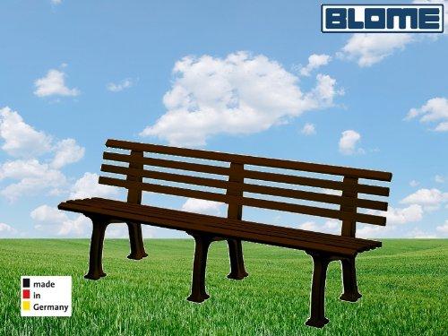Gartenbank Juist braun Blome 4-Sitzer