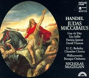Haendel : Judas Macchabée