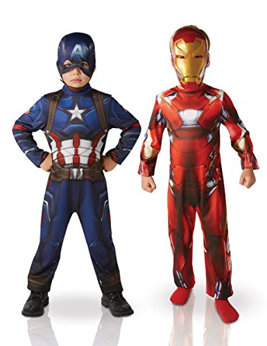 nd Captain America Kostüme für Kinder (Iron Man 3 Kostüm Helm)