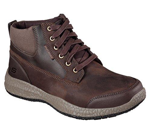 Skechers , Herren Sneaker schwarz schwarz 39 EU Chocolate
