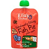 Ella's Kitchen Squashed Squishy Fishy Cakes 130 g (Pack of 6)