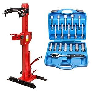 18 TLG. Stossdämpfer Werkzeug Satz Federbein 1/2 Antrieb + Federbeinspanner 1 Tonne
