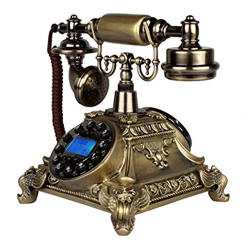 Interfono telefónico antiguo cuerda. Teléfono retro