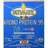 Krono Protein 95-4 Proteine Del Latte, Albume d'Uovo, Proteine Isolate Della Soia - 5 Aminoacidi - Massimo Valore… - 51DATEC6zyL. SS166