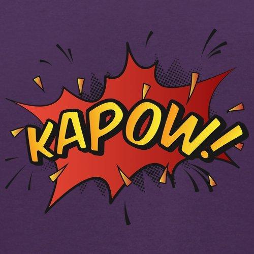 Superheld Kapow - Herren T-Shirt - 13 Farben Lila ...