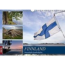 FINNLAND Traumhafte Landschaften (Wandkalender 2019 DIN A4 quer): Idylle und Historie (Monatskalender, 14 Seiten ) (CALVENDO Orte)