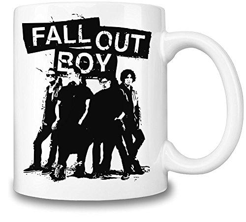Fall Out Boy Mug Cup (Fall Out Boy Album Vinyl)