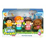 Fisher-Price Little People Fun Park Friends Figure Set