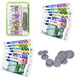 Soldi da gioco euro, monete in plastica & banconote di carta, 30 pz - LCDG - amazon.it