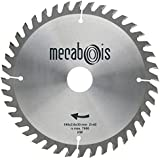 Mecabois - Lame de scie circulaire au carbure de finition -SILERGIE II 235x2.6x30 - 40 DENTS