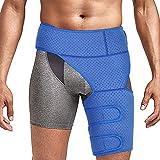 Oberschenkelbandage kompression Hüft oberschenkel bandage mit klettverschluss für Oberschenkel und Ischiasnerven Schmerzlinderung, Prävention von Muskelzerrungen und Rehabilitation