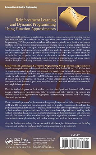 Reinforcement Learning and Dynamic Programming Using Function Approximators (Automation and Control Engineering)