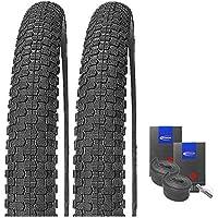 2 x Kenda Kiniption BMX Fahrrad Reifen 54-406 2 CONTI SCHLÄUCHE 20x2.10