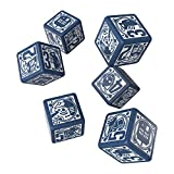 Q WORKSHOP Doctor Who RPG Dice Set 6 x D6 Deluxe