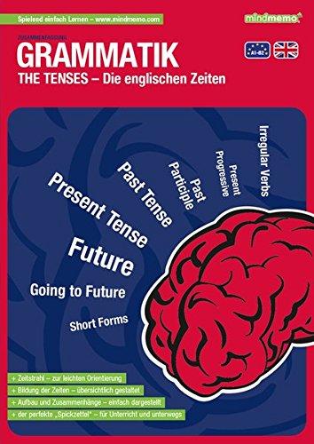mindmemo Lernfolder - The Tenses - Die englischen Zeiten - Grammatik Lernhilfe - PremiumEdition (foliert) [Broschiert]