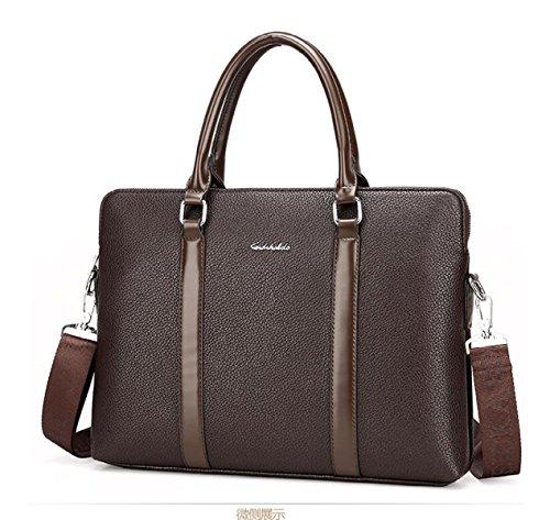 Männer Beutel Handtaschen-Computer-Beutel-Gezeiten-Schulter-Beutel-Kurier-Beutel Brown