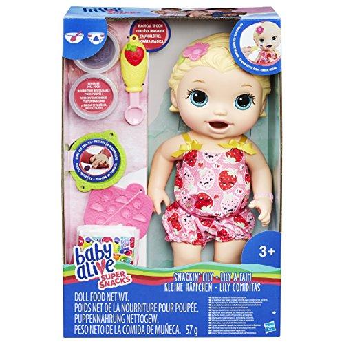 Hasbro C2697EU5 - Baby Alive Fütterspaß Lily, Puppe (Puppe Baby Alive Hasbro)