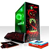 Fierce Maniac RGB Gaming PC Bundeln: 6 x 4.1GHz 6-Core Intel Core i5 8500, 480GB SSD, 8GB 2666MHz, GTX 1060 6GB, GameMax Draco, Windows 10, Tastatur (QWERTZ), Maus 1076771