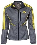 adidas Athletics ClimaWarm Windstopper Damen Jacke, Grau, Gr��e 40