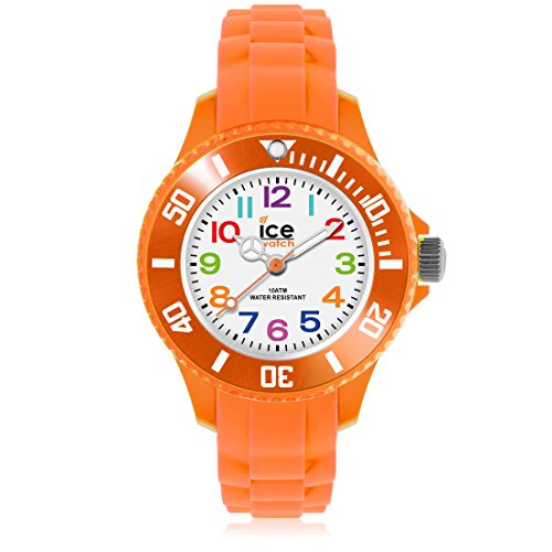 Ice-Mini-Childrens-Size-Ice-Watch-White-Dial-Colourful-Numbers-Orange-MNOEMS