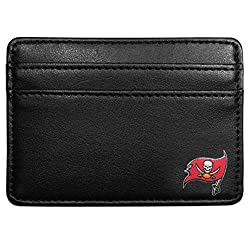 NFL Tampa Bay Buccaneers Leather Weekend Wallet, Black