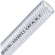 Meterware Klarer PVC Schlauch,Aquariumschlauch,Luftschlauch von 4mm bis 25mm Ø
