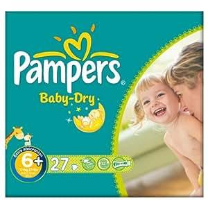 pampers baby dry gr e 6 16 kg essential pack extra. Black Bedroom Furniture Sets. Home Design Ideas