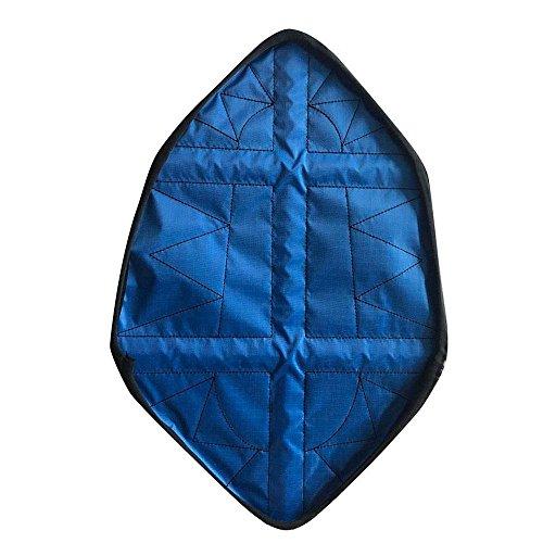 Kegelschuhe von Aolvo drinnen, automatische Instant Schuh abdeckt, wiederverwendbar blau