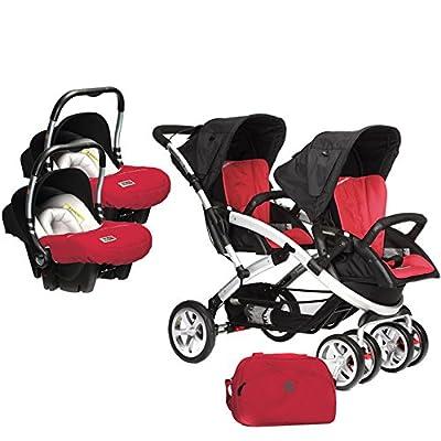Casualplay Stwinner - Pack de silla de paseo para gemelos