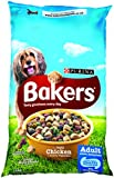 Purina Bakers Adult Dry Dog Food Tasty Chicken and Country Vegetables, 14 kg