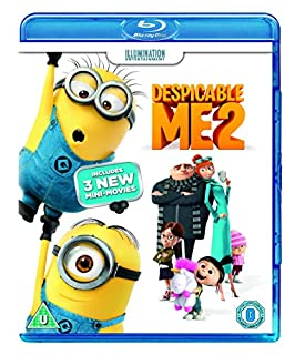 Despicable Me 2 [Blu-ray] (B00BBTNNZS) | Amazon price tracker / tracking, Amazon price history charts, Amazon price watches, Amazon price drop alerts