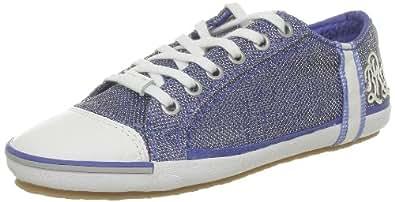 Replay Bridgette Luc, Baskets mode femme - Bleu (0010 Blue), 38 EU