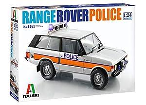 Italeri 3661S 3661S-1:24 Range Rover Police - Juego de construcción de maquetas, construcción de Modelos, Manualidades, aficiones, Pegamento, Kit de Montaje de plástico, sin Pintar