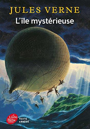 L'le mystrieuse - Texte abrg