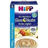 Hipp biologique bouillie de lait d'avoine porridge bonsoir pomme (5 x 500g)